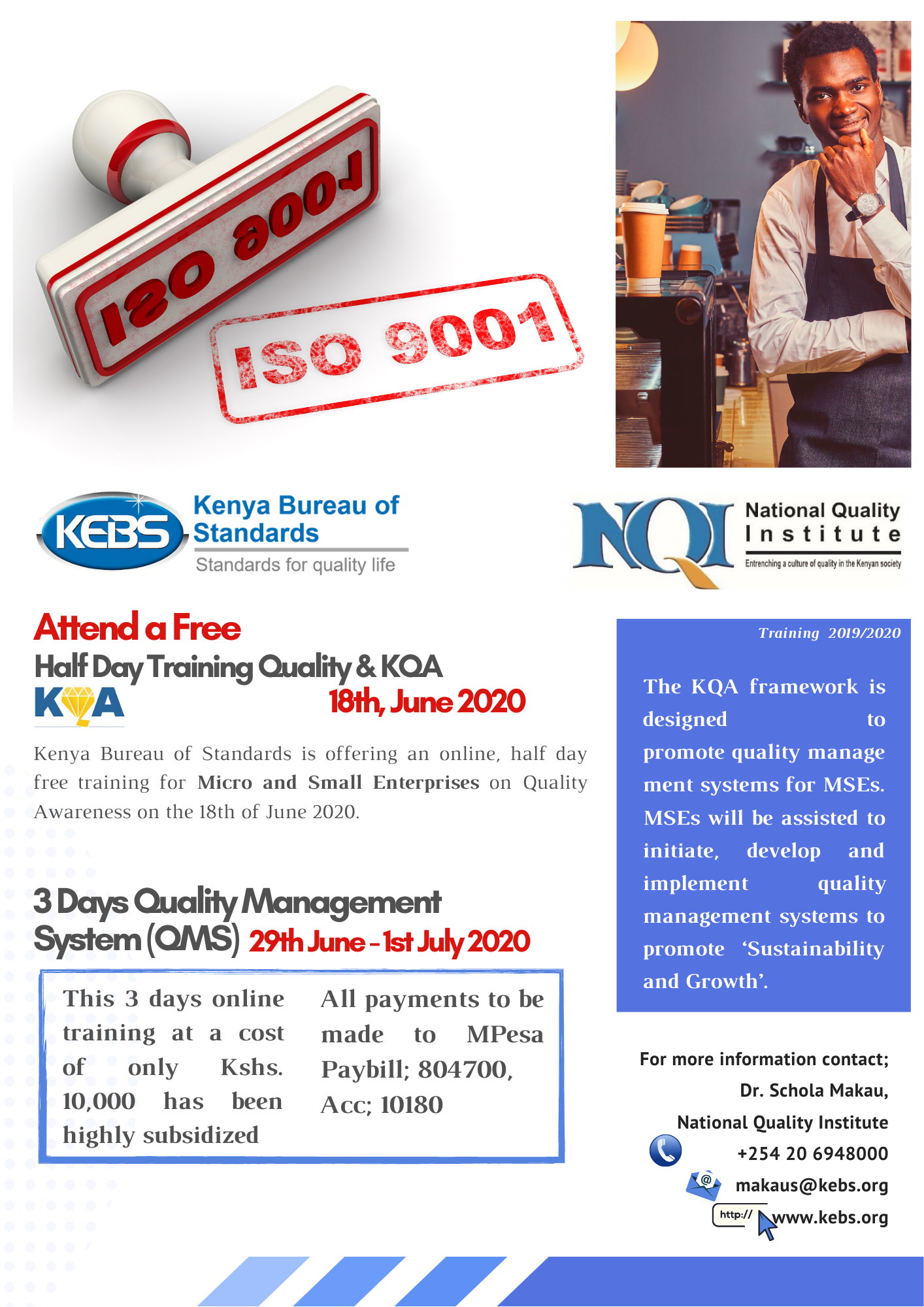 QMS KQA Training June 2020 Final 2